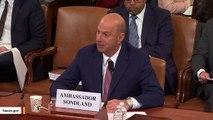 Sondland: Giuliani's Request Was A 'Quid Pro Quo'