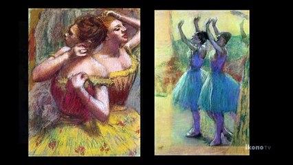 Ballet in Edgar Degas' work