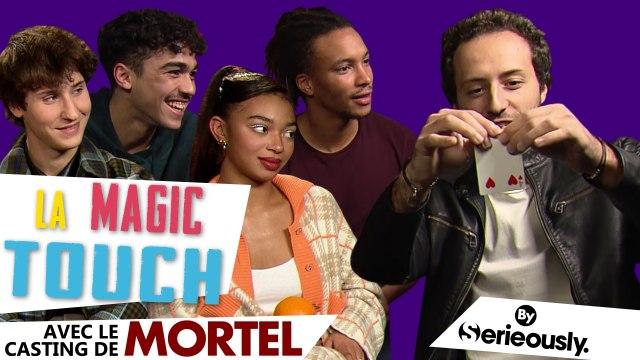 MORTEL : on a fait des tours de magie au casting de la série Netflix