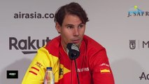 """Coupe Davis 2019 - Rafael Nadal critique les horaires des matches de la Davis Cup : """"C'est mauvais... """""""