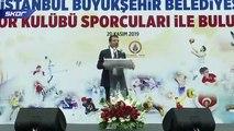 Ekrem İmamoğlu 'Sporu, İstanbul şehrinin bir parçası yapacağız'