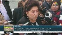 Bolivia: legisladores del MAS intentan salidas constitucionales