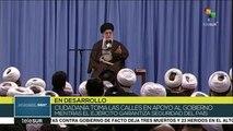 León: EEUU aprovecha las protestas en Irán para desestabilizar