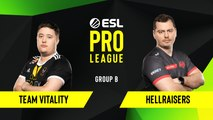 CSGO - HellRaisers vs. Team Vitality [Nuke] Map 2 - Group B - ESL EU Pro League Season 10