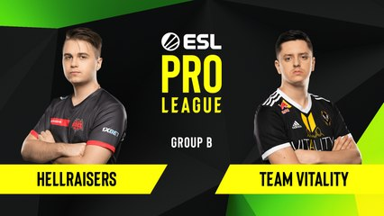 CSGO - HellRaisers vs. Team Vitality [Overpass] Map 1 - Group B - ESL EU Pro League Season 10