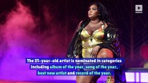 Lizzo Reacts to Becoming the Grammy's Most Nominated Artist of 2020
