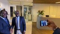 Rencontre SORO-Blé GOUDE à la Haye: Les frères-ennemis font la paix des braves