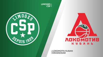 7Days EuroCup Highlights Regular Season, Round 8: Limoges 77-92 Lokomotiv