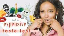 Can Tinashe Tell Which Face Cream Costs $1 vs. $160? |  Expensive Taste Test | Cosmopolitan