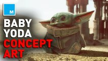 According to concept art, Baby Yoda was always cute