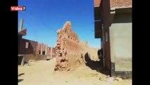 سور حصين من اللبن عمره 400 عام بالوادي الجديد