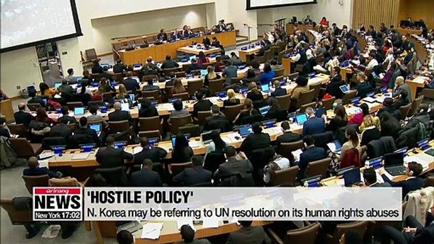 Senior N. Korean diplomat calls on U.S. to drop all 'hostile policies' before talks
