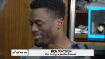 Ben Watson Understands Tom Brady's Frustration Pursuing Perfection