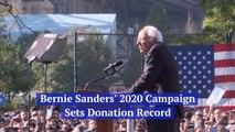 Bernie Sanders Sets A Record