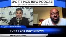 NBA Picks Tony T Tony Brown 11/21/2019
