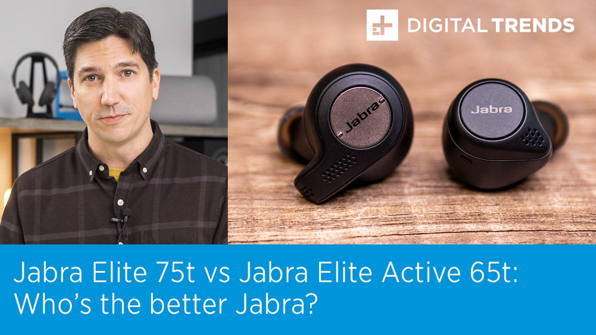 Jabra Elite 75t Vs Jabra Elite Active 65t Who Is The Better Jabra Video Dailymotion