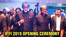 IFFI 2019 Goa | Amitabh Bachchan And Superstar Rajinikanth At The Opening Ceremony