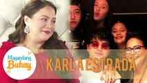 Momshie Karla receives sweet messages from her loved ones | Magandang Buhay