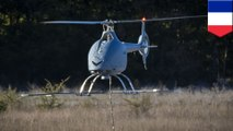 VSR700無人直升機原型試飛成功