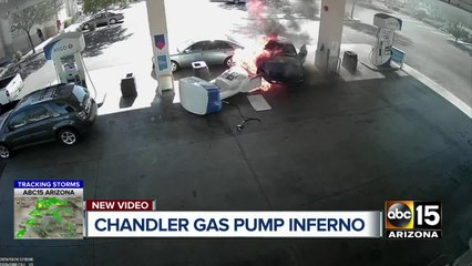 Video: Chandler gas pup inferno