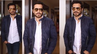 Spotted: Emraan Hashmi promoting his upcoming film The Body