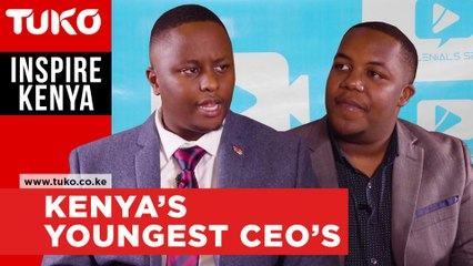 Kenya's youngest CEO's