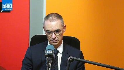 Olivier Bossard, directeur de l'hôpital du Mans