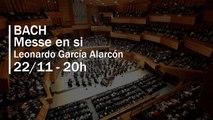Bach : Messe en si sous la direction de Leonardo García Alarcón