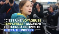 Greta Thunberg est-elle un voyageur temporel ?