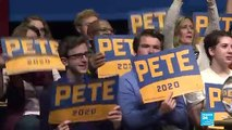 Pete Buttigieg, the centrist democratic candidate winning voter appeal