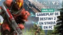 Destiny 2 en Chrome con Stadia
