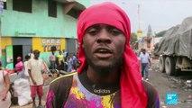 Protesters demand resignation of Haiti's president