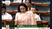 'Right To Water' should be made fundamental right: Hema Malini in Lok Sabha