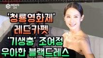 '청룡영화제 레드카펫' 조여정, 우아한 블랙 드레스