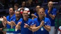 Coupe Davis : Les Bleus menés 1-0 après la défaite de Tsonga