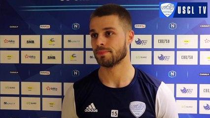 J14 Laval-USCL : l'interview d'avant-match de Mathias Llambrich