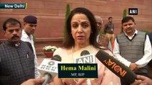 Hema Malini raises terror of Monkeys in LS, demands Monkey Safari in Mathura