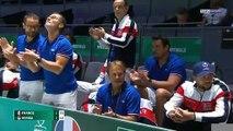 Coupe Davis : Paire battu par Djokovic, la France éliminée