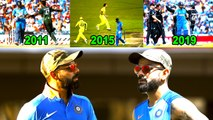 Kohli in World cup knockouts | Cricket world cup semi finals | Kohli in World cup semi finals