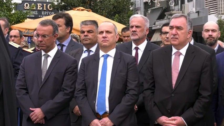 Με λαμπρότητα τίμησαν τις Ένοπλες Δυνάμεις στη Λαμία και στη Χαλκίδα