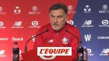 Galtier «Campos est investi à 200%» - Foot - L1 - Lille
