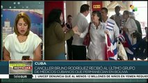 Llega a Cuba último grupo de médicos provenientes de Bolivia
