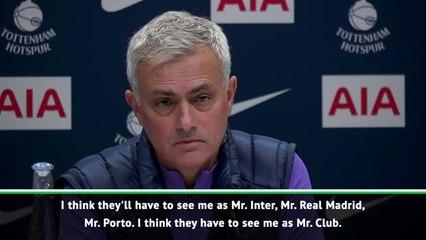 I wear the pyjamas of the club and sleep in them - Mourinho
