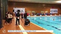 INSOLITE De Caunes en tournage à Tours