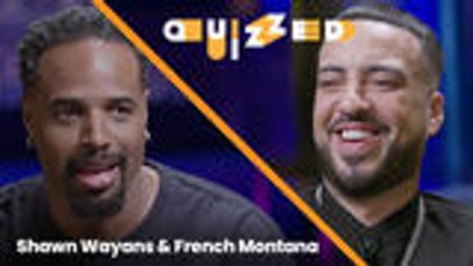Shawn Wayans Quizzes French Montana on 'White Chicks' Trivia | Quizzed