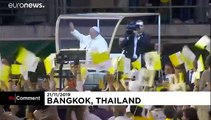 Pope Francis slams use of women & children for prostitution in Thailand