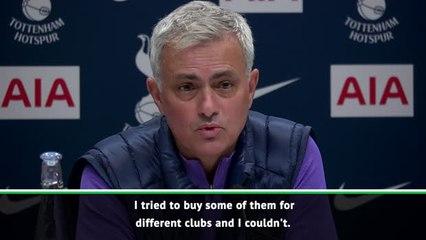Mourinho tried to sign Spurs stars