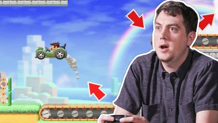 Nintendo's Corey Olcsvary plays your Super Mario Maker 2 levels