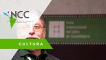 Homenaje al poeta mexicano David Huerta en la Feria Internacional del Libro de Guadalajara