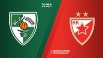 Zalgiris Kaunas - Crvena Zvezda mts Belgrade Highlights | EuroLeague, RS Round 10